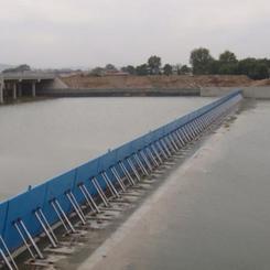 GBZ钢坝闸门止水漏水原因及措施