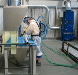 科朗兹文丘里湿式除尘器 铝镁抛光粉尘过滤