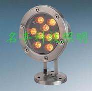 专业批发大功率led水底喷泉灯9w,12w,户外防水的水底灯