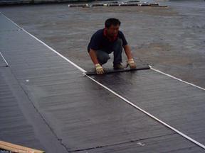 屋面防防水