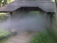 流水假山植物雾森景观设备