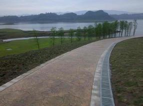 苏州专业彩色压花混凝土承建商、江苏艺术地坪