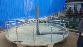 菱宇冷却塔结构
