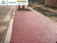 南京彩色透水地坪参数