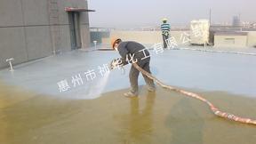 祯华化工喷涂别墅屋顶聚脲防水 聚脲防水施工