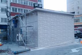 旧房改造外挂墙板-外墙干挂保温墙板-防火防水保温一体板