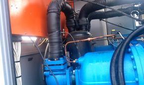螺杆压缩机进水维修处理