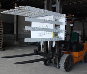 2020合力叉车新款机械手改造旋转式推出器机械强度高