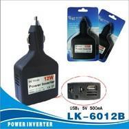 12W蓝科正品手机充电器/12WUSB车载小电器/汽车逆变器/转换器