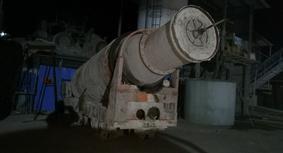 斜井大坡度轨道式混凝土搅拌运输罐车