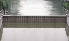 德群水利景观钢坝
