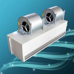 离心式空气幕 1.5米蒸汽型风幕机 低噪音车间空气幕