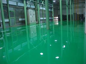 车间水泥地面刷环氧树脂地坪漆