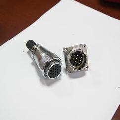 航空插头 电连接器 P28 4/12/16/20/26芯 替代威浦WS28