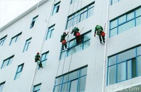 玻璃安装、上海外墙玻璃安装、玻璃幕墙高空维修