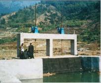 新河县龙海水利机械厂生产启闭机闸门