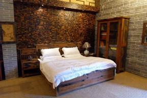 百年老船木整体房屋装修 整套船木家具制造