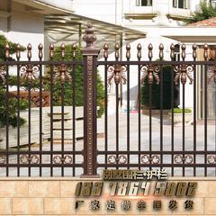 别墅围栏安装雕阑玉砌围墙护栏Asvtonpan