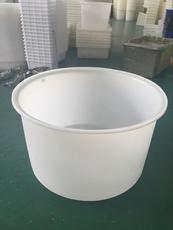 三明塑料鱼池1500L鱼菜共生塑料桶1.5立方养殖圆桶厂家直销发酵桶