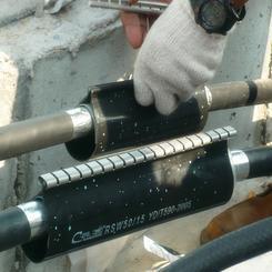 专业生产电缆修补片 外护套拉链式热缩管 电缆热缩管 电缆包覆片