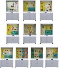 机械原理示教陈列柜教学展示柜智能控制