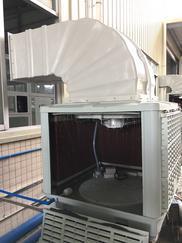 佛山岗位降温水冷空调环保空调一体机