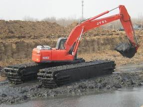 水上挖掘机租赁、出租,水陆挖掘机整机18573609999
