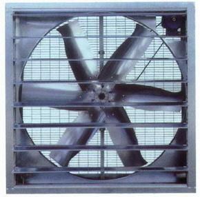 厂房通风降温-负压风机