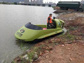 首开先河!景区气垫船++霸王龙小型气垫船――+游玩气垫船