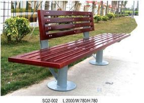 钢木结构公园椅|钢木公园休闲椅|钢木户外公园椅|钢木公园休息椅|善群景观