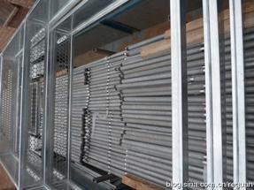 德天地兴最新一代毛细力水平放置低温热管换热器
