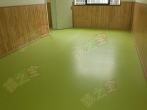 幼儿园专用地板 塑胶垫批发 幼儿园装修公司