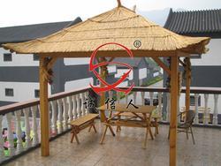 屋顶凉亭、木凉亭、定制亭子