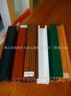 彩色不褪色异型材 抗酸碱门窗型材 塑料共挤异型材