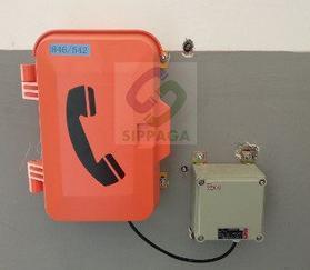 隧道防爆擴音電話機隧道施工緊急電話機