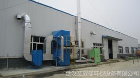 喷涂厂废气催化燃烧装置 食品厂废气处理设备