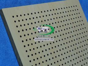 供应木质穿孔吸音板_木质环保孔木吸音板