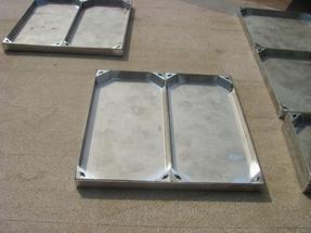 不锈钢铺砖井盖700*700*70*3