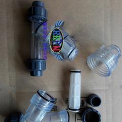 GL61F塑料Y型过滤器-塑料桶型过滤器-儒柯品牌