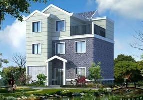青岛轻钢别墅,新式农村轻钢别墅--智乐米宅全能打造!