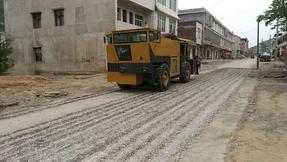 旧水泥砼路面改造-共振破碎机