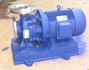 利欧IRW/IHW/ISW50-100直联管道离心泵卧式化工泵热水循环泵锅炉增压泵