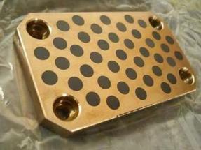 固体镶嵌自润滑铜滑块