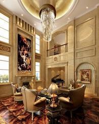 上海苏州高档欧式现代美式中式风格高端别墅设计公司效果图