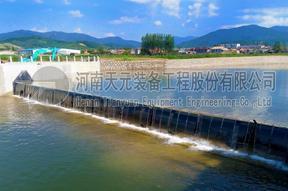 国产优质气盾坝价格 气盾坝品牌 生态气盾坝CAD图设计
