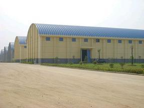 杭州拱形屋顶 914-610型粮食仓库拱形罩棚