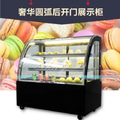 前后开门圆弧直角蛋糕柜风冷冷藏展示柜甜品店慕斯寿司台式保鲜柜