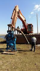野外施工不用电力,挖机液压清淤泵,砂浆泵