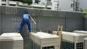 空调风机隔音板 冷却塔隔音屏障