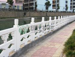 仿石护栏,仿汉白玉栏杆,河道护栏,桥梁护栏